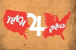 teach for america logo, depaulunderground.wordpress.com