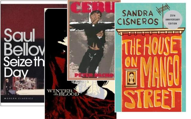 saul bellow's seize the day, sandra cisneros' the house on mango street, paul bacho's cebu and winter in the blood by james welch, depaulunderground.wordpress.com