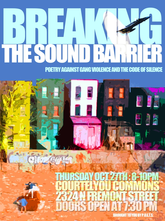 POETS Event: Breaking the Sound Barrier, depaulunderground.wordpress.com