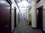 Hallway of the Arts and Letters Building, DePaul University, depaulunderground.wordpress.com