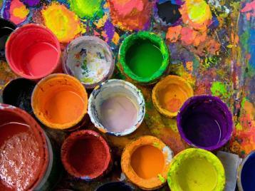 art and paint, depaulunderground.wordpress.com