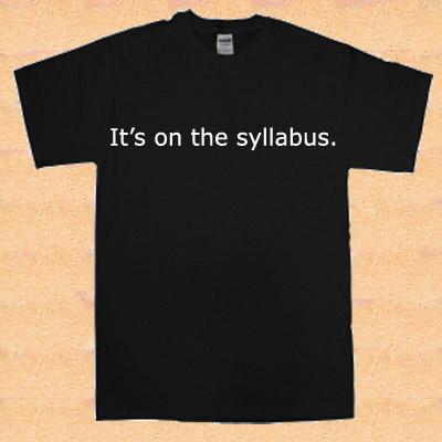 syllabus tshirt, depaulunderground.wordpress.com