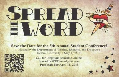 WRD 5th Annual Student Conference