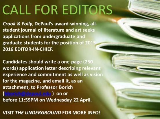 C&F Call for Editors