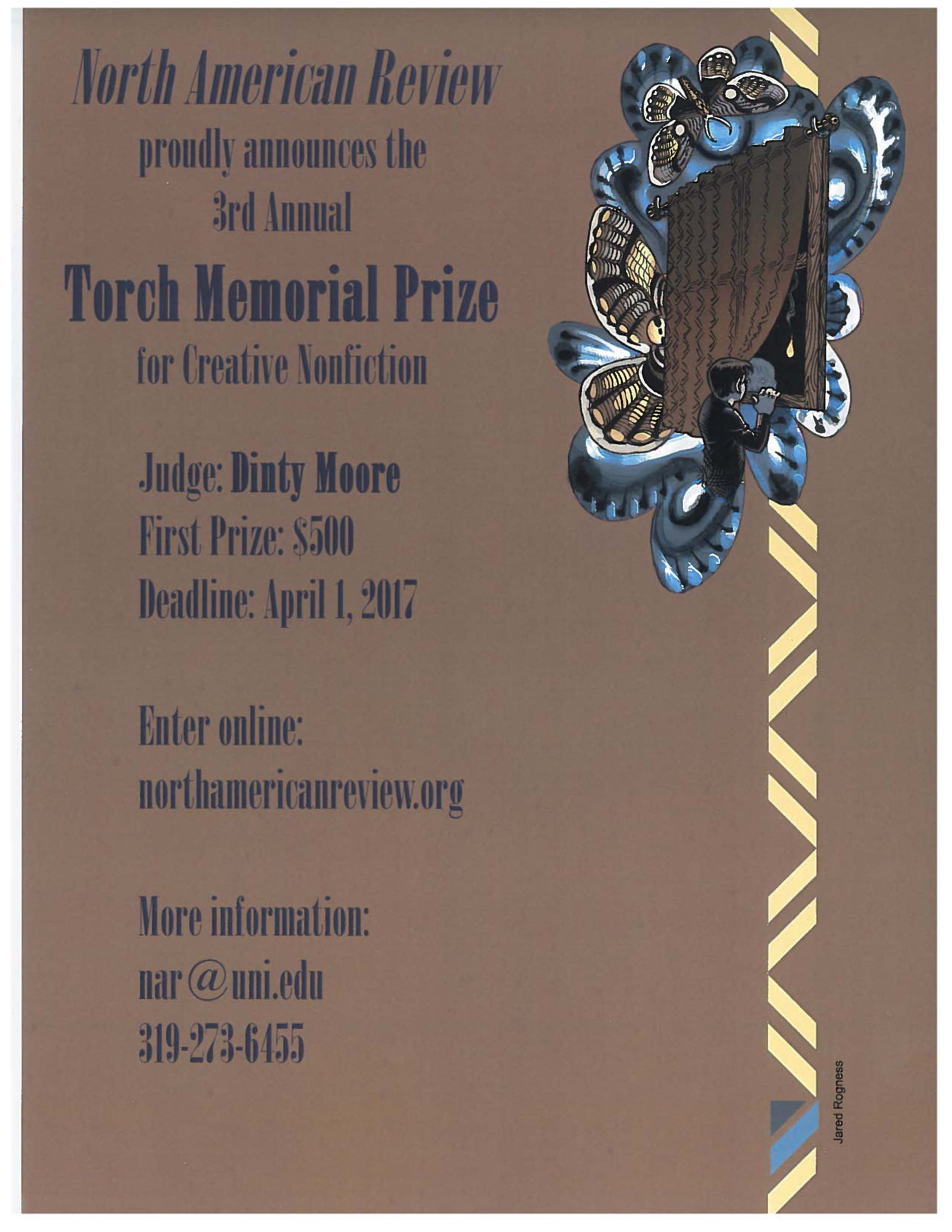 North American Review - Torch Memorial Prize