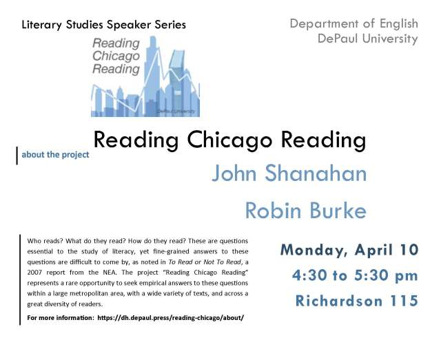 Shanahan Reading Chicago Reading