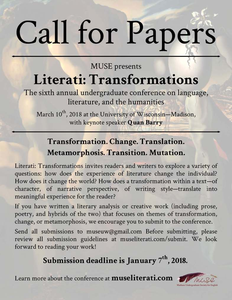 Literati 2018 Call for Papers