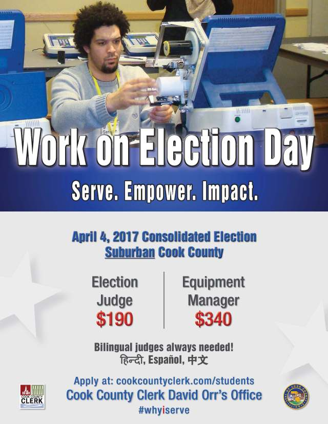 Work on Election Day - College