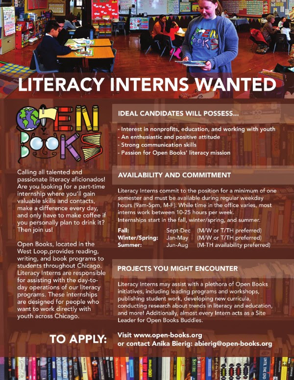 Open Books Internship