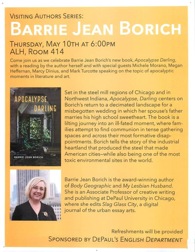 Barrie Borich Visiting Authors Series