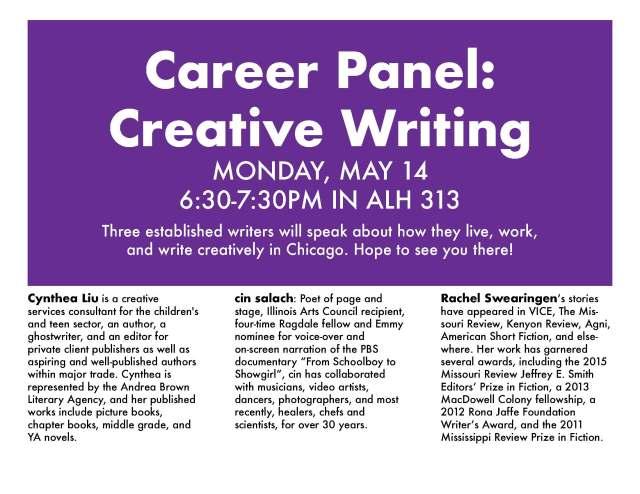 Creative Writing Panel